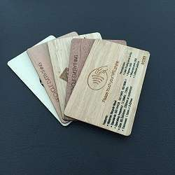 Smart Wood Card/Wood Gift Card in different craft