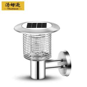 Solar mosquito control lamp