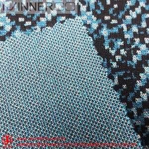 Acrylic Paint Knit Jacquard Polyester