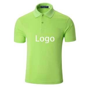 2018 100%男式马球运动T恤设计