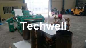 Steel Metal Cut To Length Line High Precision For Cutting Coil Into Required Length