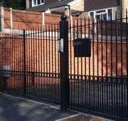 Steel Tube Fence 001