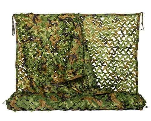 Woodland camouflage Color Camouflage net for military usage