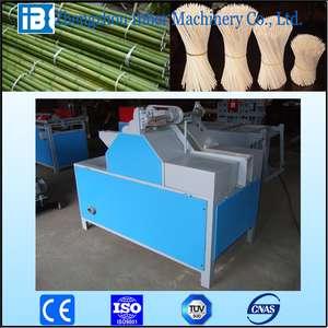 Bamboo slicing machine to make toothpick chopstick | incense stick making machine