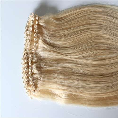 Micro beads hair weft