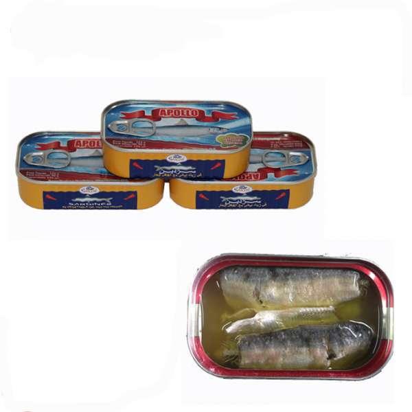 植物油沙丁鱼罐头
