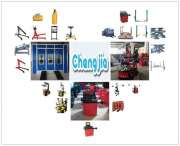 Tire changer wheel alignment car lifter spray booth