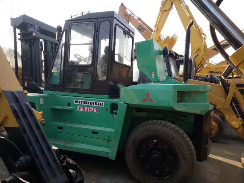 Used Mitsubishi FD120A Forklift,Used 12 tons forklift