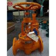 J41 type PFA lined stop valves globe valve Like
