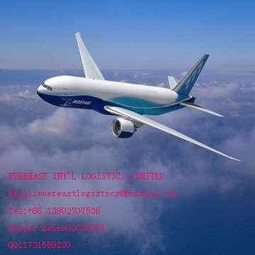 空运货物门到门运输从深圳到西班牙,中国