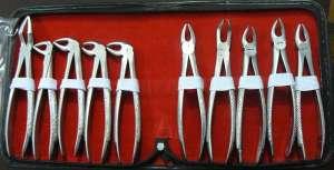 Dental Forceps 10piece set.