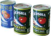 Supply Canned Fish--Mackerel In Tomato Sauce
