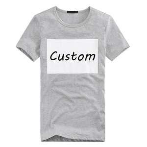 0707cd6ee Oem Service Design Your Own T-Shirt Custom Printing Organic Cotton T Shirt