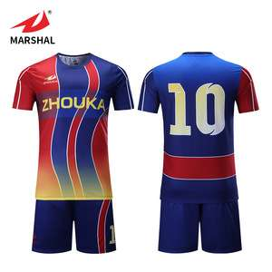 71e24e070 Customized bulk football shirt maker cheap polyester striped soccer jerseys  full sublimation printing soccer wear
