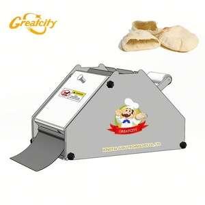 不锈钢商用玉米饼压榨机/玉米饼制作机/10英寸玉米饼包装机
