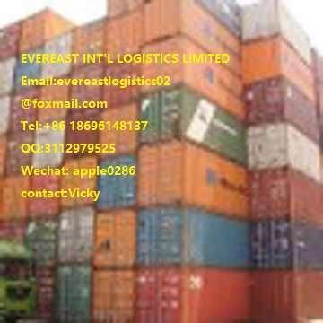 从中国到迪拜杰贝阿里可靠的集装箱货运