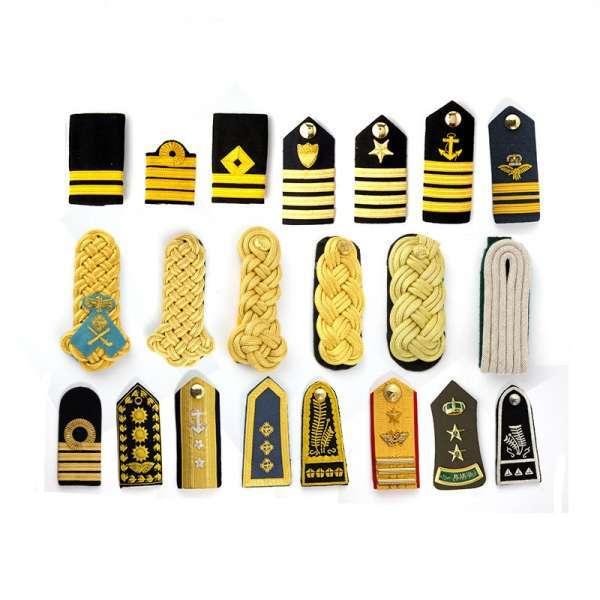 Factory OEM army uniform shoulder board