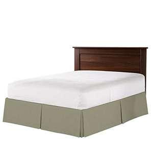 优雅的超细纤维适合大多数床褶边裙