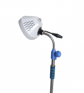 Cold light source vertical shadow LED operation lamp