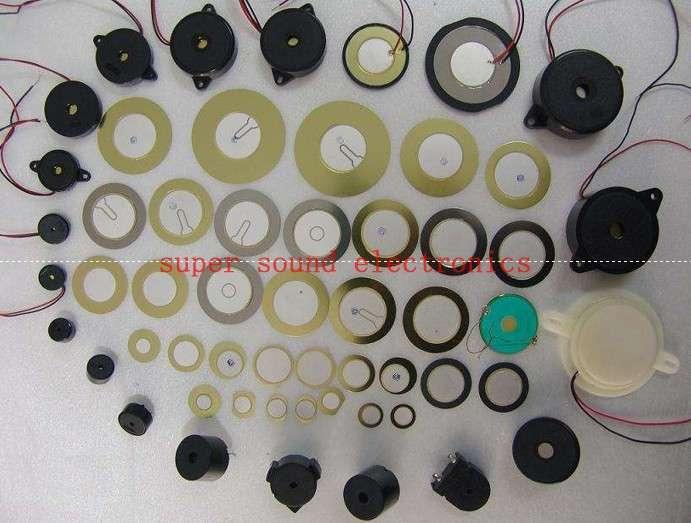 Piezoelectric ceramic buzzer