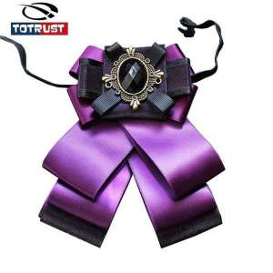 Fashion British Bow Tie Men And Women Tie For Women Ties 2018 Wedding Bow Tie Gravata Uniform Necktie Female Groomsmen Butterfly