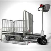 standing driving trolley electric platform