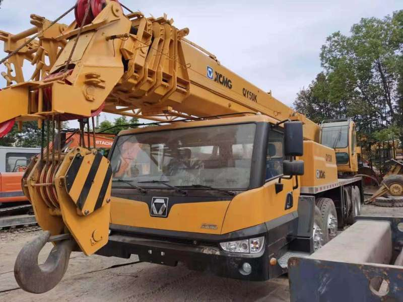 Used Hot Sale Used 50t XCMG QY50K Hydraulic Telescopic Boom Truck Crane in Excellent Codition