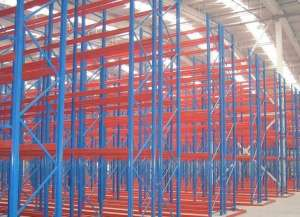 Vna Rack Storage System Pallet Narrow Aisle Racking