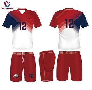 4d9fb449e Wholesale Athletic Wear 100% Polyester Soccer Jersey Design Custom
