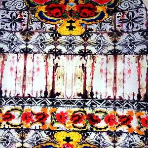 Polyester Acrylic Blend Plain Weave Fabric