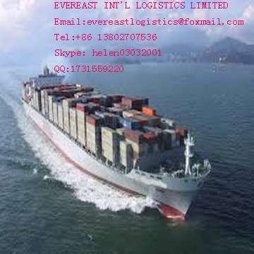 从中国到欧洲的海运拼箱