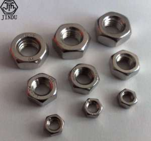 DIN934 Chinese Manufacturers Directly Sell Fasteners, Six Corner Nuts Wholesale Nuts, National Standard Custom Mail Contact