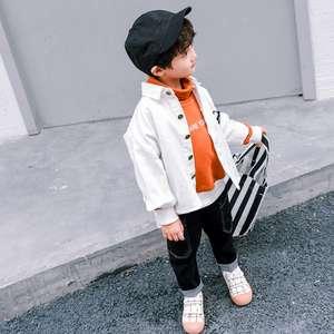 Yy10120b 2018 Fashion Denim Jacket Design For Kids Jean Jacket Coats