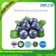 Cheap sale of organic fruit powder, blueberry freeze-dried powder, can be used for food additives