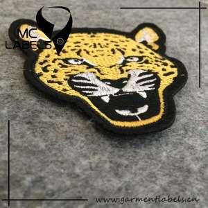 Custom Iron On Tiger Embroidered Patches No Minimum/custom