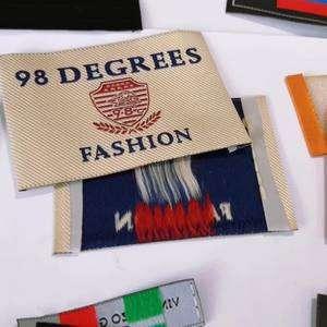 高品质定制服装编织标签