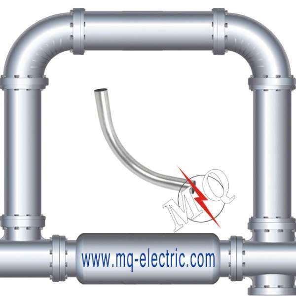 UL certificate steel Galvanized Electrical EMT Conduit Elbow With 90 Degree