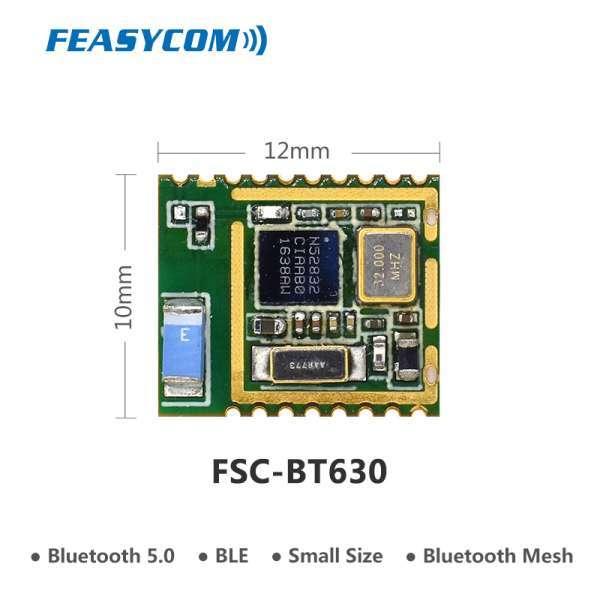 小尺寸NRF 52832芯片进行数据传输和网状网络的BLE蓝牙5网格模块