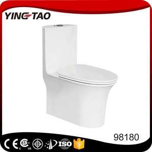 中国供应商批发价卫生洁具一体式陶瓷马桶