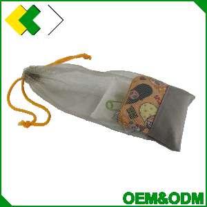 拉绳线型网袋优质新鲜果蔬包装袋