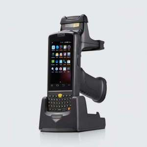 1D 2 D barcode scanning Handheld Mobile Industrial android pda terminal with optional NFC RFID reader