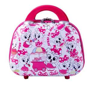 SMJM Cosmetic Bag and Case for Girls Cartoon Waterproof Travel Kit
