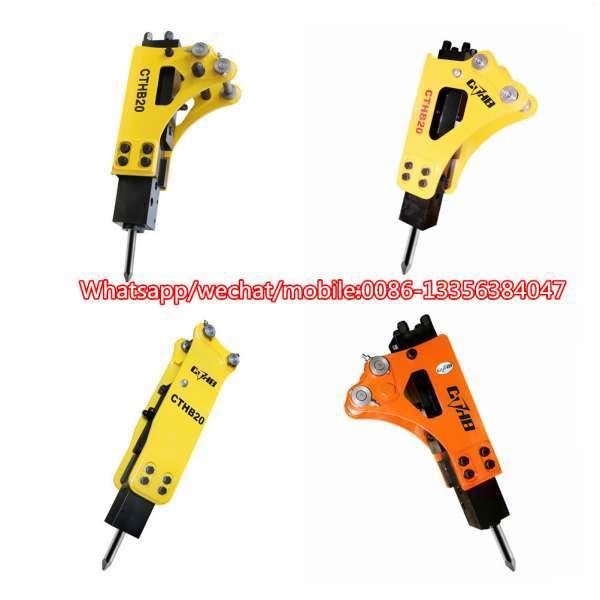 SB10 SB20 Hydraulic Rock Breaker Hammer For Mini Model Excavator