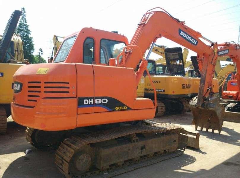 Used Doosan mini DH80-7 Excavator with cheap price