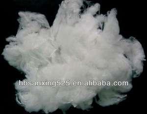 热~~2013新品生态100%聚乳酸纤维3-12d*32-102mm枕头和床上用品