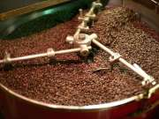 Roasted Arabica and Robusta coffee Beans.
