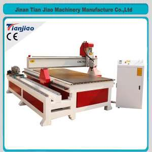 4th Axis Rotary DSP Controller Wood Cutting Machine