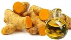 Turmeric tea with ginger