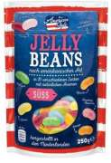 Jelly beans with a mixture of 20 fresh fruit flavours 250 g.