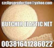 ELASTIC NETTING FOR MEAT SMOKED,COOKING OR BAKING